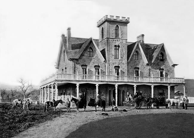 Marsh House, Martinez, California c1870