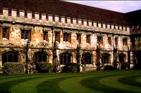 Magdalen College Courtyard