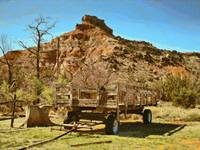 Palo Duro Canyon Wagon
