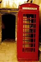 Telephone Booth at Magdalen