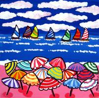 Fun Beach Umbrellas