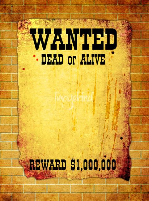 Wanted Poster By Stasys Eidiejus