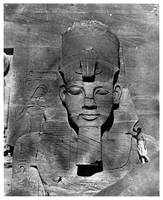 Colossus of Abu-Simbel, Nubia (1850)