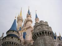 Cinderella's Castle (upward view)