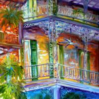 FRENCH QUARTER CITYSCAPE 20 by Marcia Baldwin