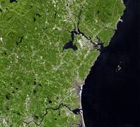 Coastline of New Hampshire