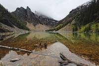 Tranquil View of Lake Agnes