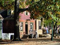 Colonial Williamsburg Morning Merchants