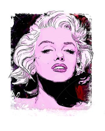 Marilyn Monroe by Michael T Bane