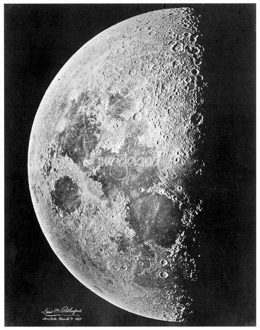 Moon by Lewis Rutherford )March 4, 1865(