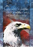 Eagle Troop Support Card - Belief in Freedom