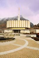 Provo temple and cool bricks