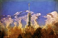 mount timp temple timpanogos lone peak backdrop te