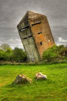 German Commando Tower World War II HDR