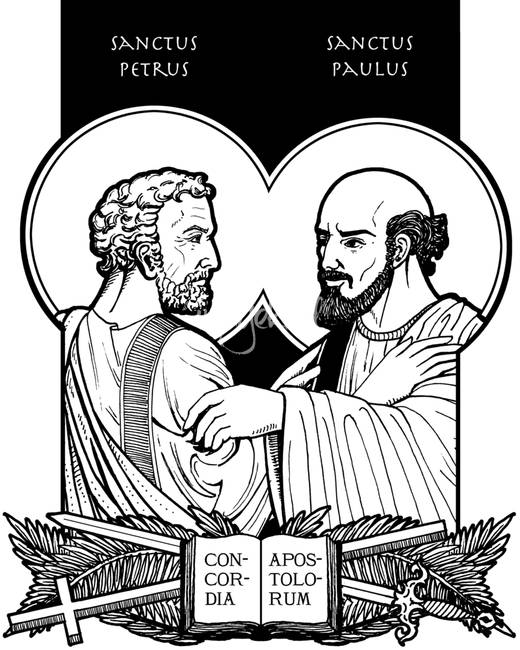 Image result for saints peter and paul