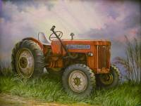 Old International Farm Tractor