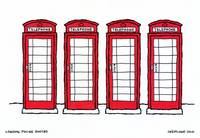 london phone booths