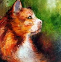 KITTY ORANGE 1818 M BALDWIN ORIG OIL 062910