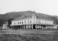 Los Gatos Hotel c1890 by WorldWide Archive