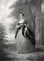 Portrait of Martha Washington