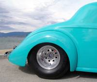 Fat tire street rod