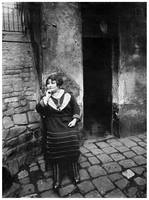 Prostitute in Paris by Eugene Atget (1920s)