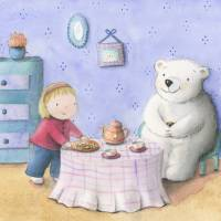 Tea party Art Prints & Posters by Alicia Padron