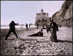 Beach Scene by the Cliff House, c1900 Posters