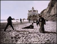 Beach Scene by the Cliff House, c1900