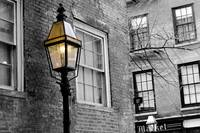 Beacon Hill street lamp