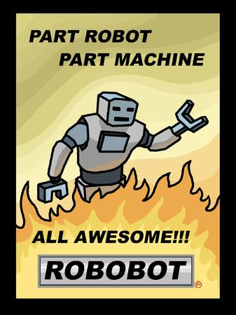 Awesome Robot - F Minus