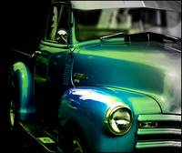 Vintage Chevy 3100 Pickup Truck