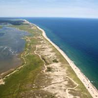 """Nauset Beach Aerial Photo"" by ChrisSeufert"