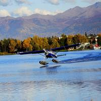 Alaska Anchorage Lake Hood Take Off