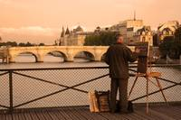 Painter on the Seine