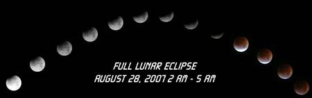 Lunar Eclipse 8-28-2007