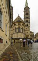 Cathedral, Bamberg 1 by Priscilla Turner