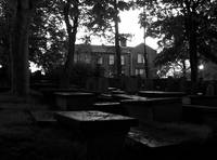 Graveyard and parsonage