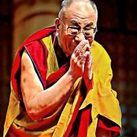 """""""Dalai Lama"""" by Khailey"""