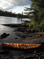 Kevlar Canoe in Boundary Waters