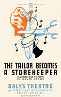 Tailor Becomes a Storekeeper Theatre Poster (1938)
