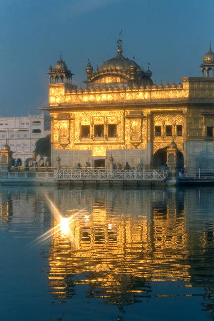 Golden Temple Evening