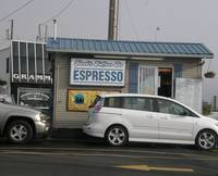 Espresso Coffee Kiosk, St Helens, Oregon