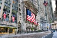Stock Exchange Flags Wall Street