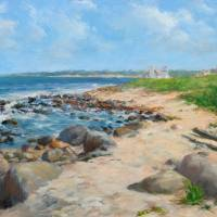 """Beach at Weekapaug"" by blaney"