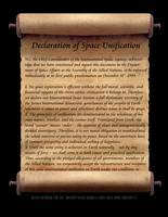 Declaration of Space Unification