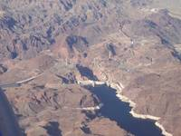 Hoover Dam on high