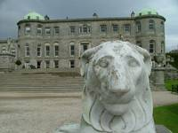 Powerscourt House and Lion