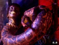 Macabre Midway: Snake Woman