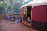Home In My Topanga Yurt